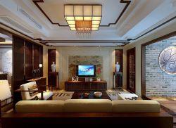 中式电视柜装修效果图图片