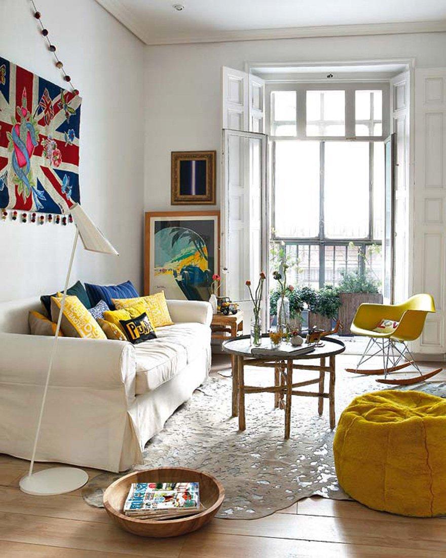 北欧风格小户型30平米小客厅装修样板房_装修123效果图图片