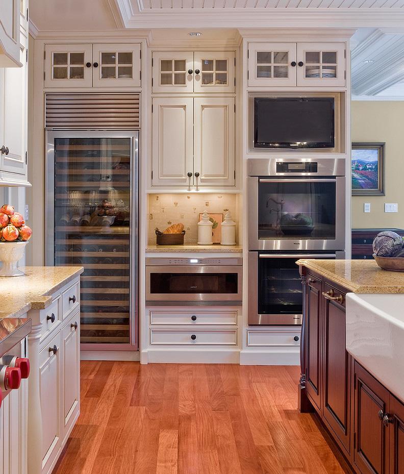 欧式家装厨房橱柜装修效果图片