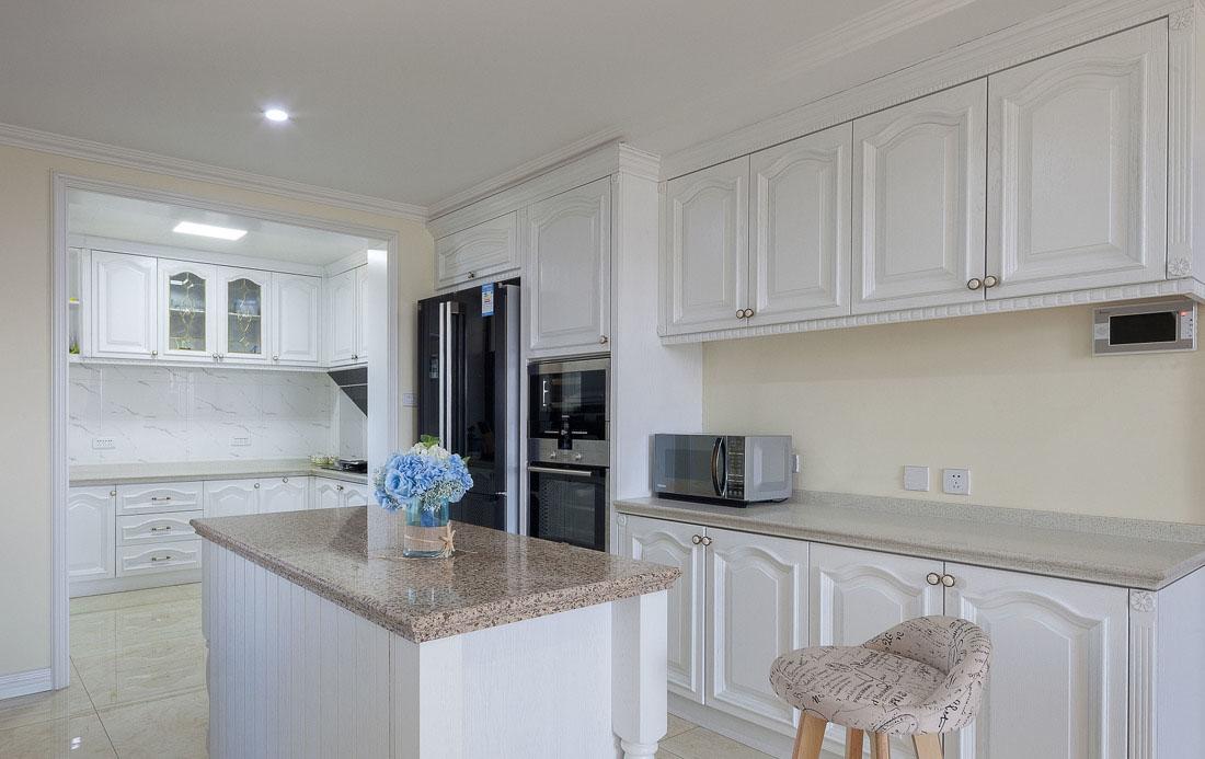 欧式家装厨房橱柜设计图