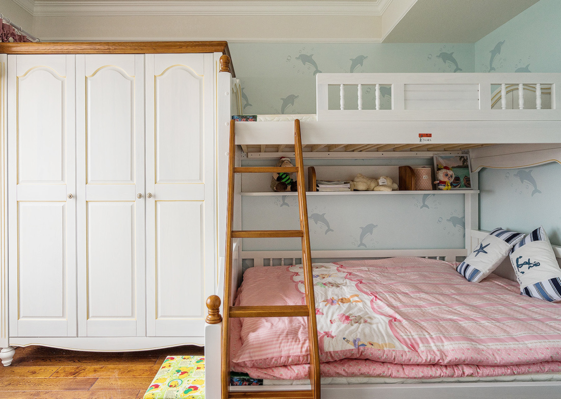 儿童房衣柜内部设计图 图片合集图片