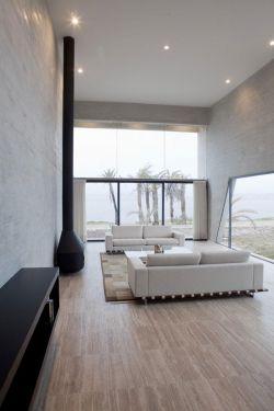 现代风格别墅客厅地板砖装修效果图