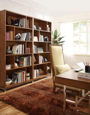 美式書柜 辦公室書柜裝飾