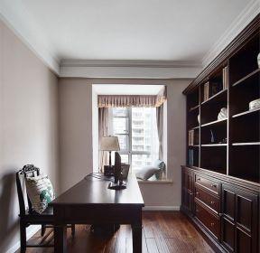 现代美式家具美式书柜装修图片-每日推荐