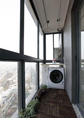 2019阳台洗衣机装修效果图大全2013图片