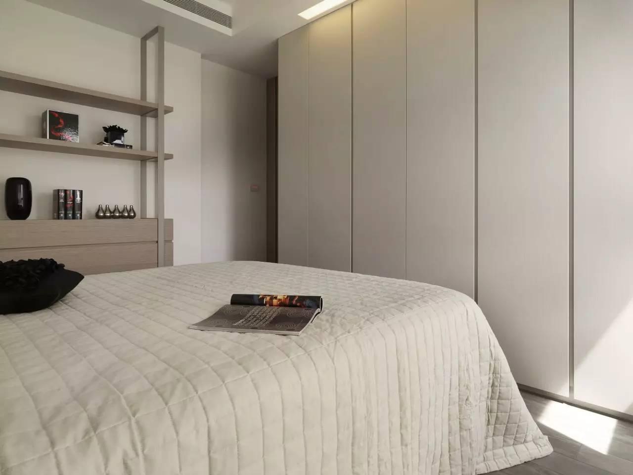 最新小卧室衣柜设计装修图片2017