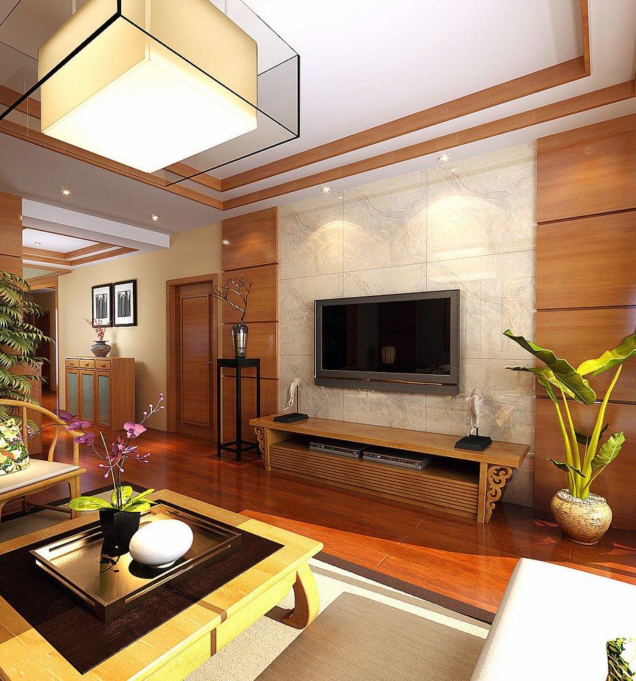 家装客厅电视墙设计效果图欣赏