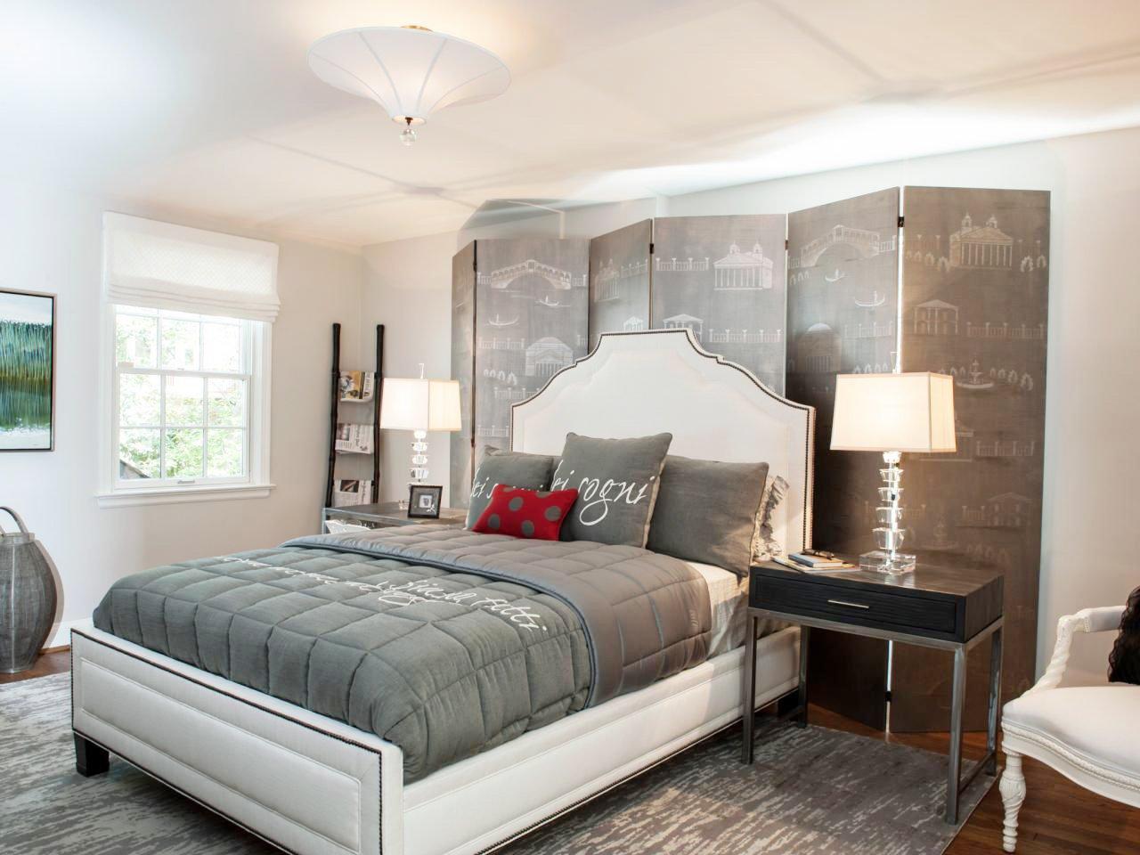 大卧室背景墙装修设计效果图