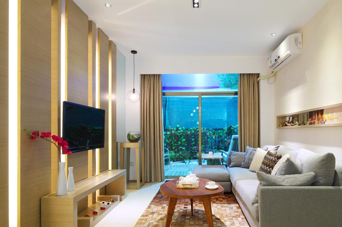 现代小户型简约客厅沙发装修效果图大全