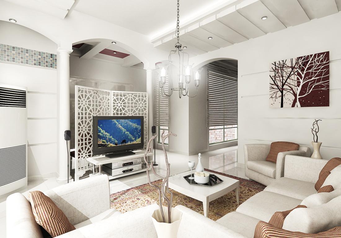 现代欧式风格简约客厅沙发装修效果图片2017图片