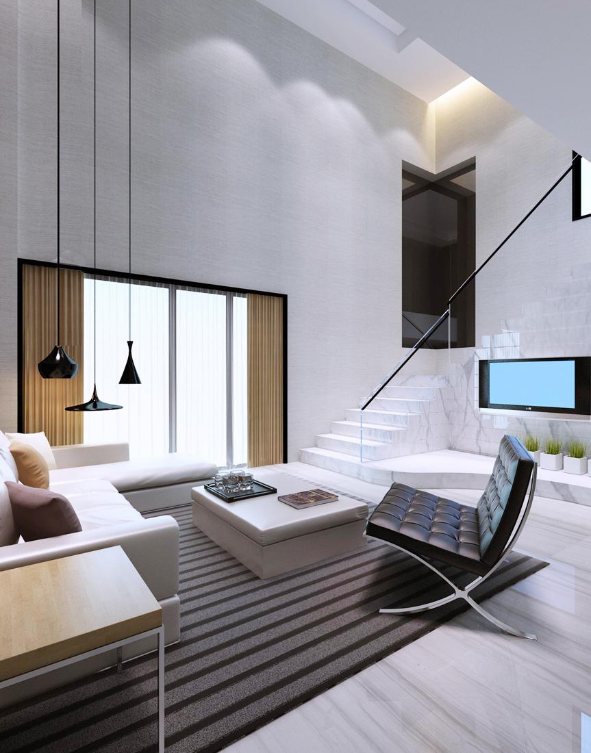 简约现代家装室内客厅装修效果图,图片尺寸:1100×770,来自网页:http