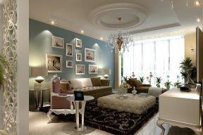 歐式客廳吊燈 田園歐式風格裝修