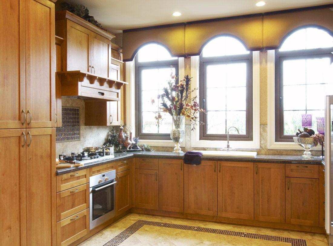 2017美式室内设计厨房吊柜效果图