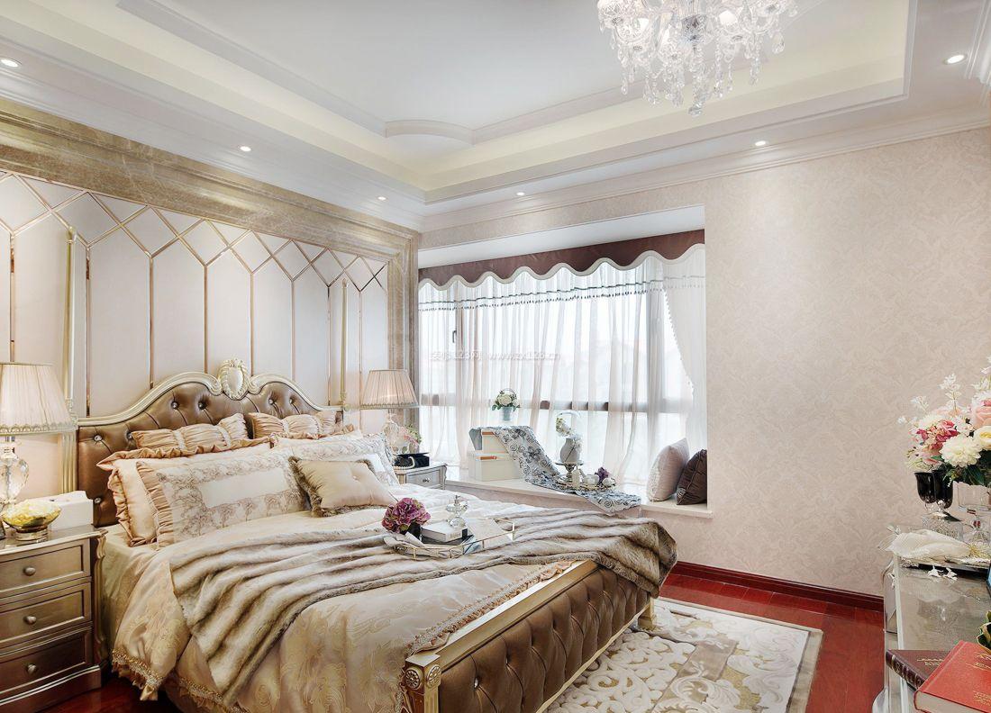 欧式室内设计卧室阳台榻榻米装修效果图图片