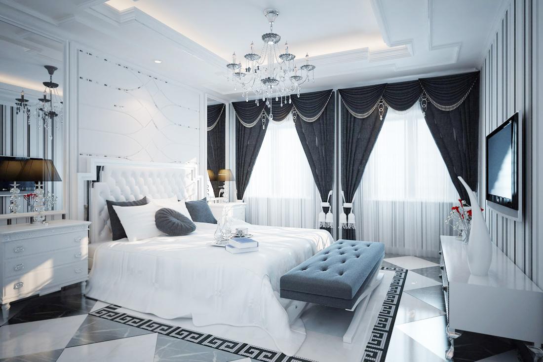 经典欧式风格女生卧室装饰品装修图片