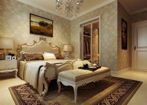 歐式臥室背景 歐式臥室風格
