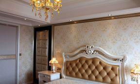 歐式臥室背景 背景墻紙