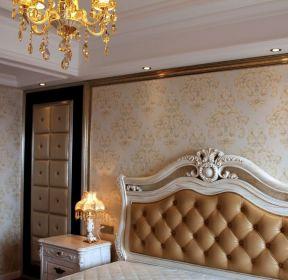 歐式臥室背景墻背景墻紙效果圖-每日推薦