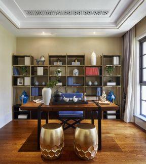 長方形書房 書桌設計圖