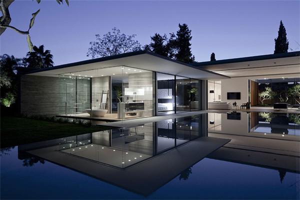 北京别墅装修设计技巧 采用玻璃需注意