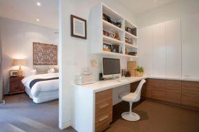 家庭小面積書房 書桌書柜