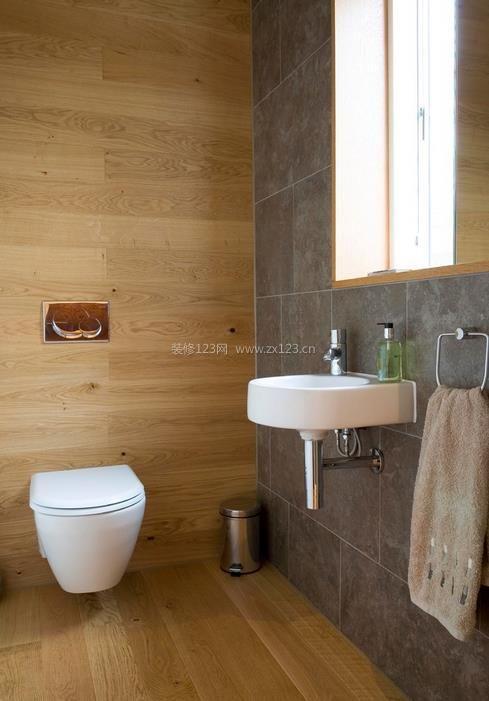 乡村小型别墅小卫生间设计效果图