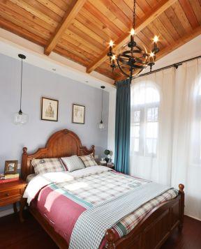 小阳台改卧室效果图 美式室内设计