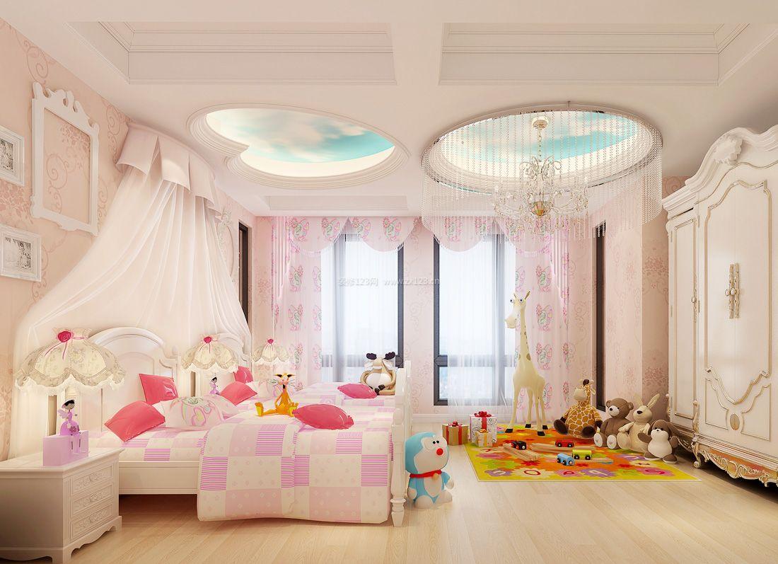 2017欧式家装卧室吊顶设计装修效果图片