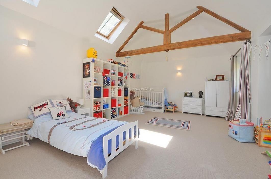 20平米儿童房简约室内装修效果图