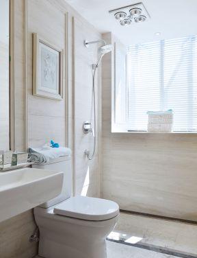小户型简欧风格 卫生间浴室装修图