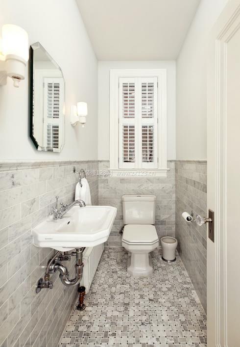 50平米小户型卫生间瓷砖颜色装修效果图片