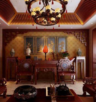 别墅中式装修 让你细品古典之美