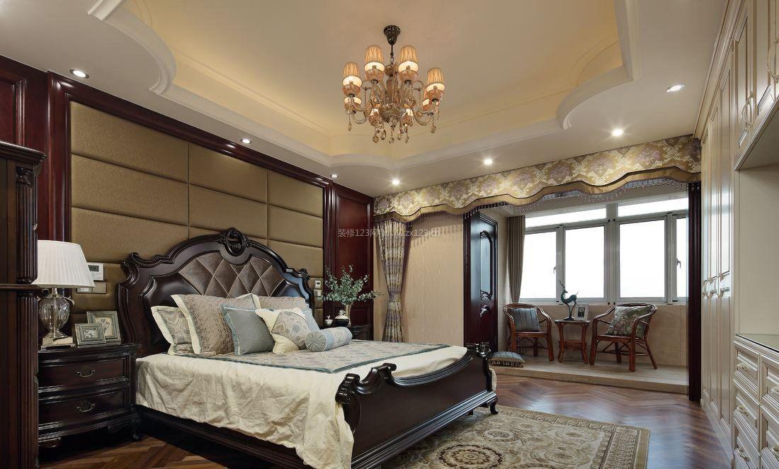 新古典卧室吊顶造型装修效果图片图片