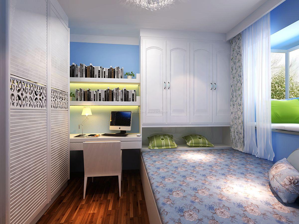 小户型卧室榻榻米床装修效果图片