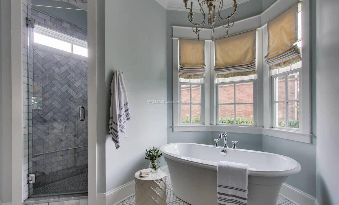 欧式现代风格浴室装修效果图