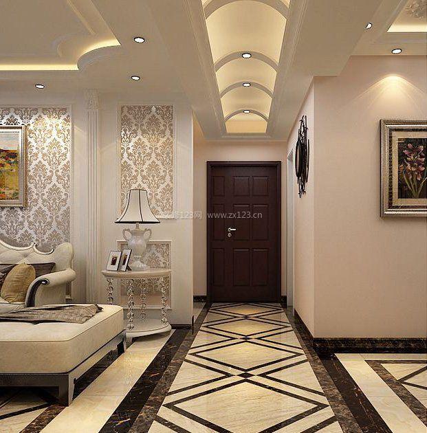 家装效果图 古典 新古典风格走廊吊顶装修效果图欣赏 提供者:   ←