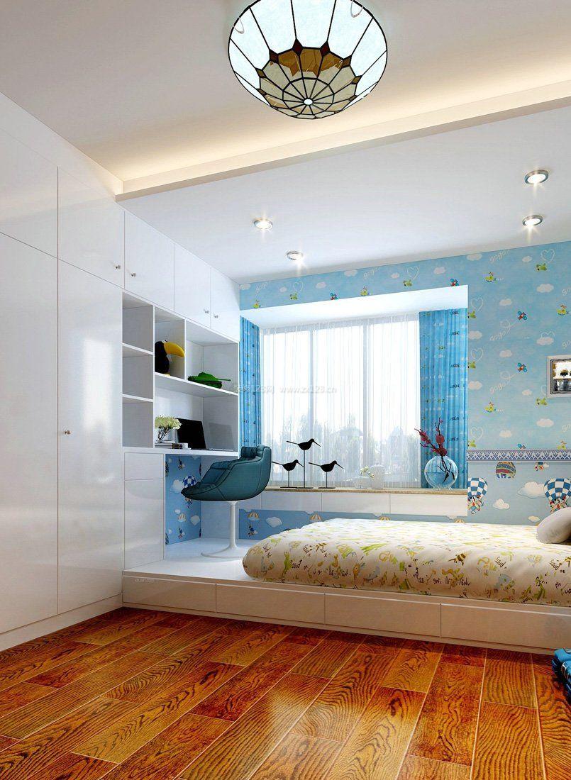 10平米小卧室两床设计图展示