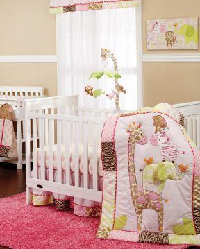 80平米现代效果 婴儿房装修效果图片