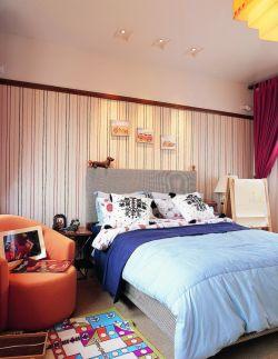 2017混搭家居卧室设计墙面壁纸装修效果图片