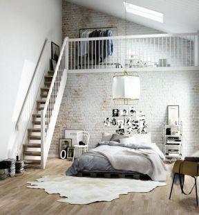 时尚简约风格 单身公寓装修效果图