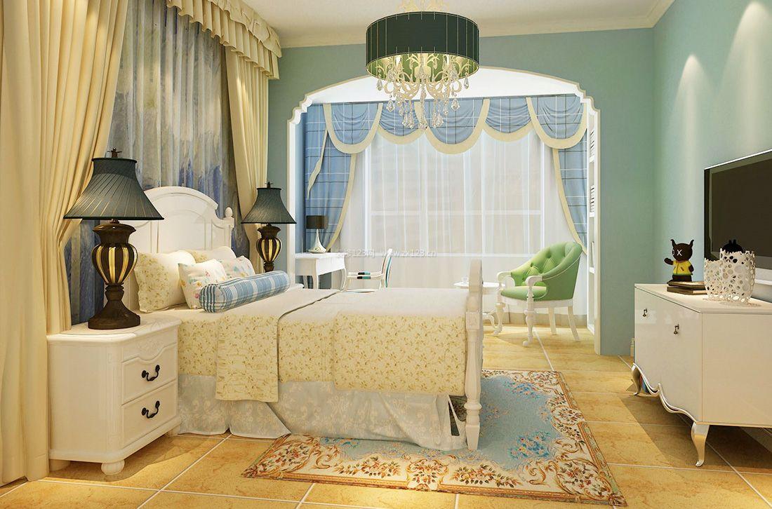 最新欧式家居卧室门洞装修效果图2017