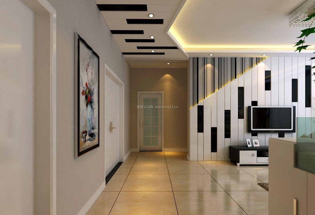 走廊过道吊顶装修效果图欣赏 设计本装修效果图