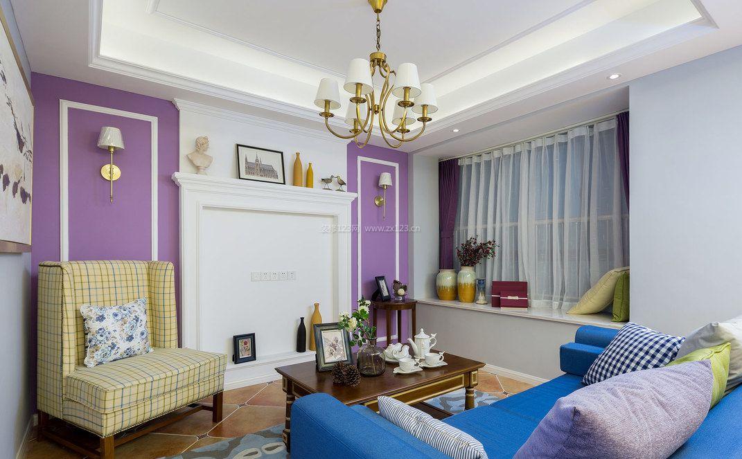 90平米客厅装修效果图片