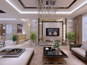 走廊客廳吊頂 現代時尚簡約風格