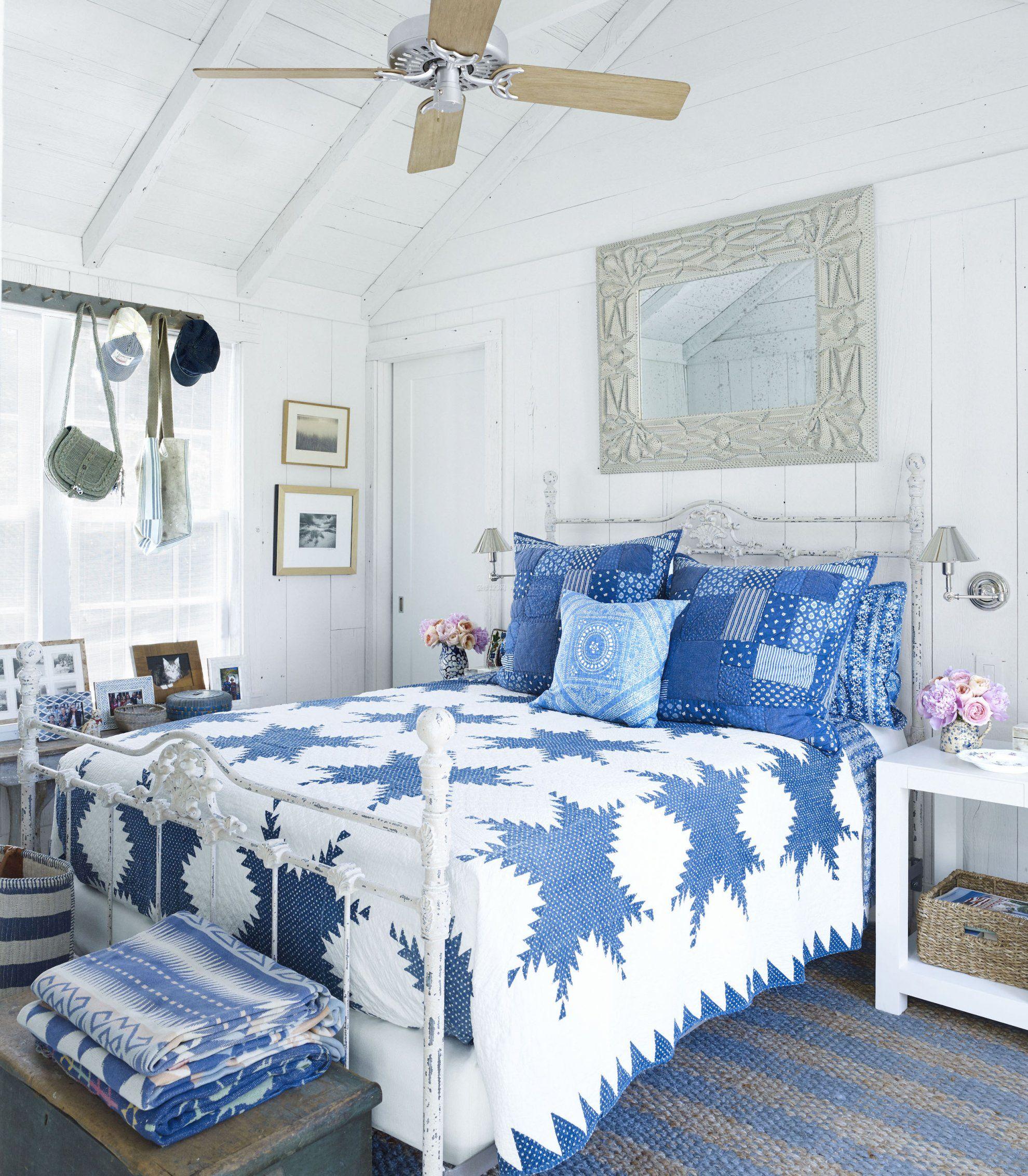 田园风格房间室内装饰设计效果图