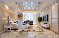 欧客厅吊顶设计效果图片大全图片