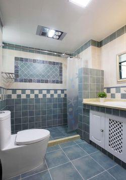 超小卫生间墙砖装修效果图片