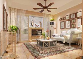 15平米客厅 懒人沙发装修效果图片