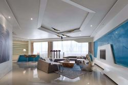時尚家裝設計客廳墻面漆顏色