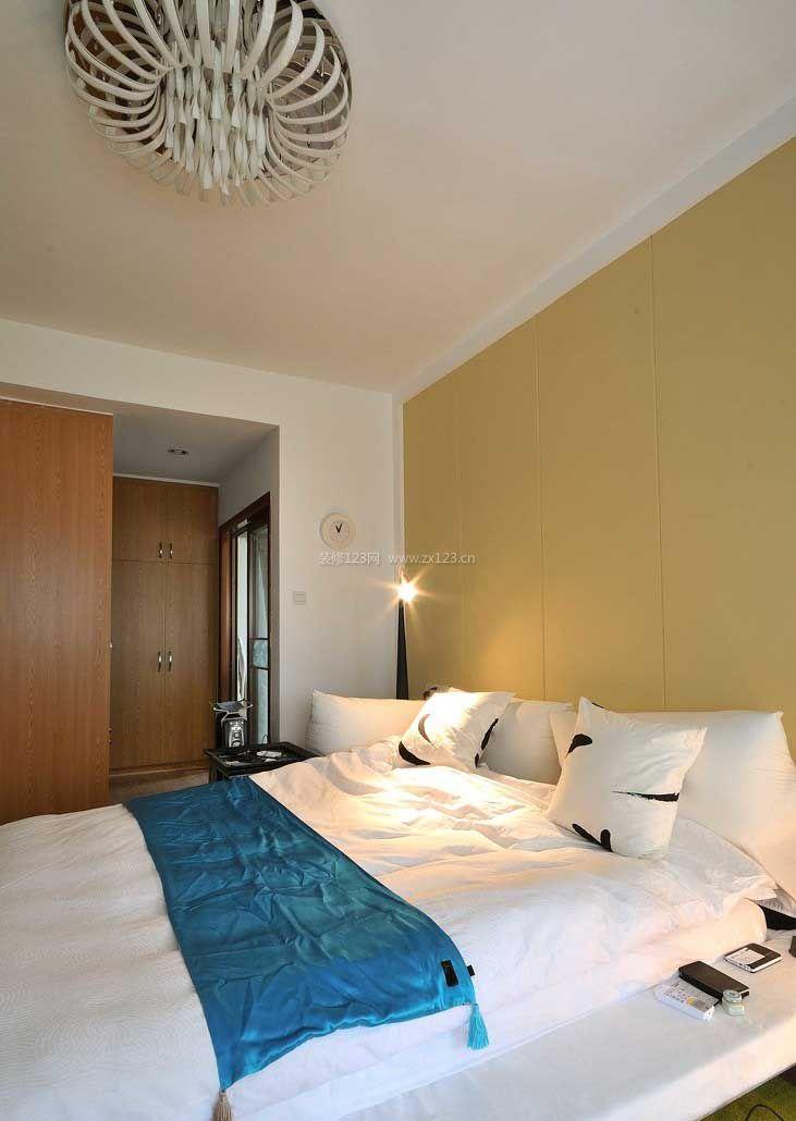 温馨卧室设计-卧室衣柜设计效果图|日式房间装修|房间设计图卧室图片